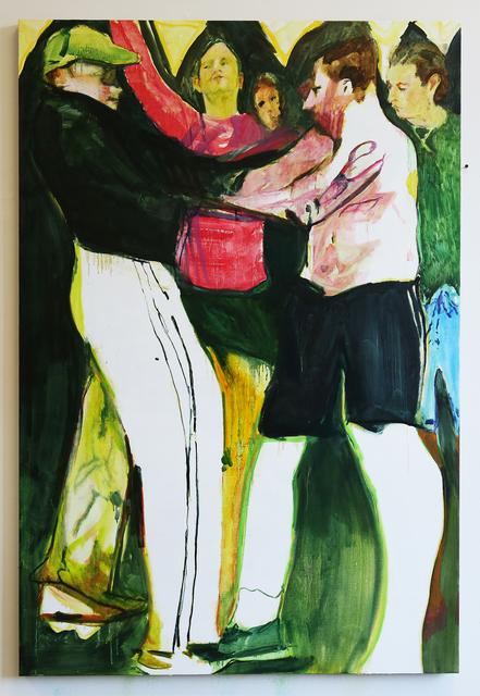 , 'Wrestlers,' 2018, Arusha Gallery