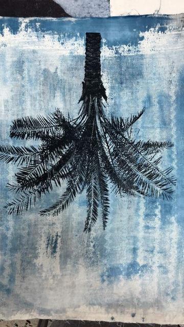 , 'Palm tree (blue),' , Mariane Ibrahim Gallery