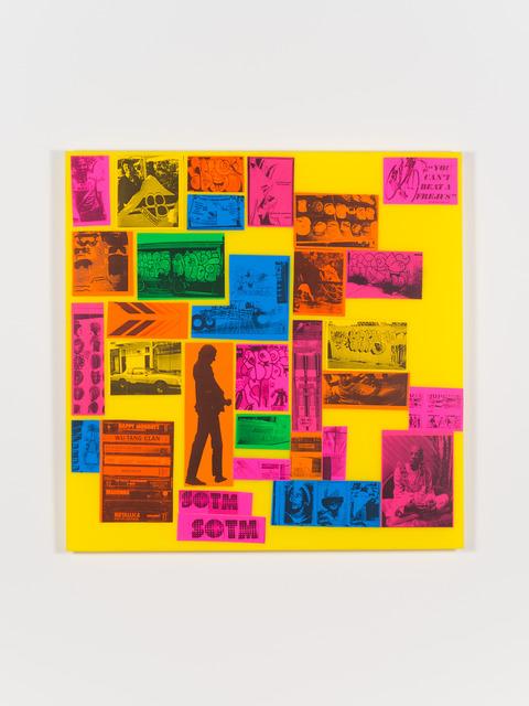 , 'Sticker Collection,' 2014, Fleisher/Ollman