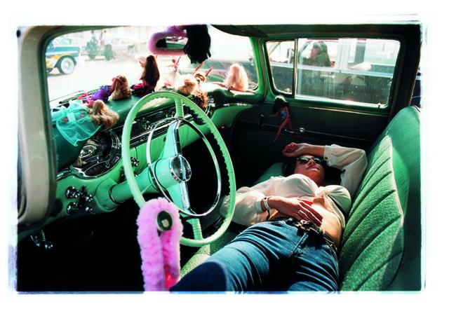 , 'Wende Resting,' 2001, Bleach Box
