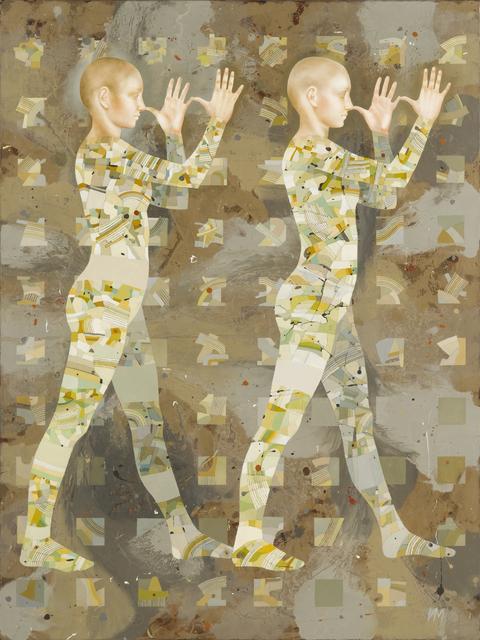 Igor & Marina, 'Walkers-XIII (Big Noses)', Gallery at Zhou B Art Center
