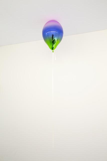 , 'Light Violet, Medium Blue and Dark May Green Mirror Balloon,' 2019, Galleri Nicolai Wallner