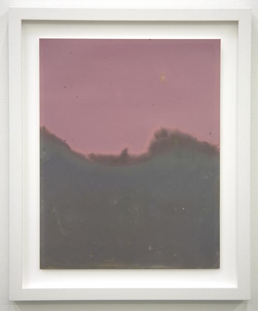 , 'Littoral Drift Sea Print #13 (Tower Beach, Hilton Head, SC 07.25.12, Tidal Pool Waves),' 2012, EUQINOM Gallery