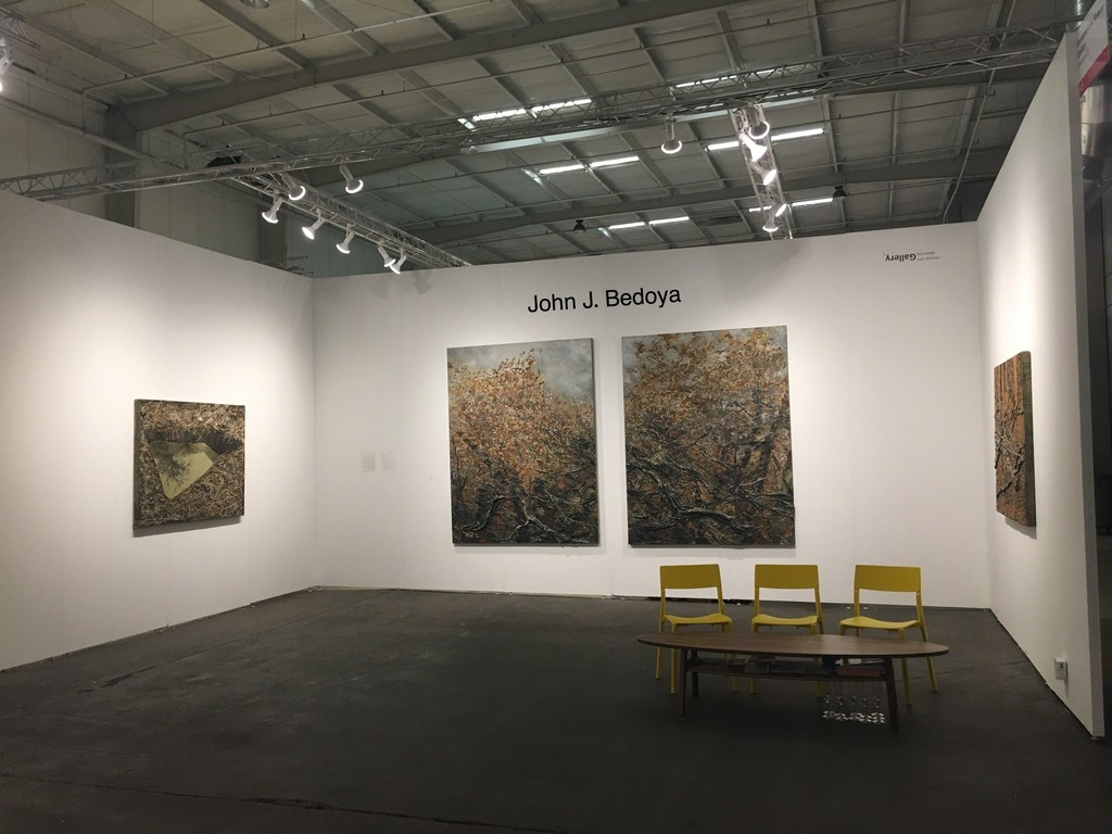 John J. Bedoya's one day solo show at Houston Art Fair on September 30th