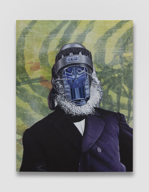 , 'Official Portrait #5 (Jungle Cooper),' 2018, Simon Lee Gallery