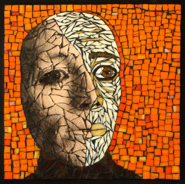 , 'Half-Faced Man,' 2014, ViVO Contemporary