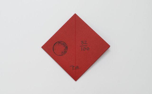 Tauba Auerbach, 'Pop-up Invitation', 2013, Roseberys