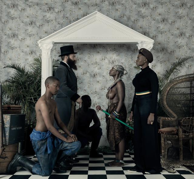 , 'Genesis (Je n'isi isi) III,' 2016, LUNDGREN GALLERY