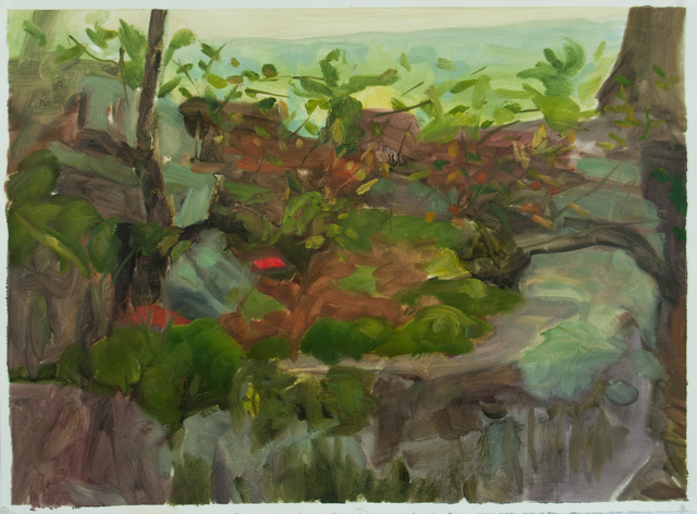 , 'Study for Devil's Den Rocks #1,' 2012, Inman Gallery
