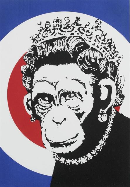 Banksy, 'Monkey Queen - Unsigned', 2003, Hang-Up Gallery