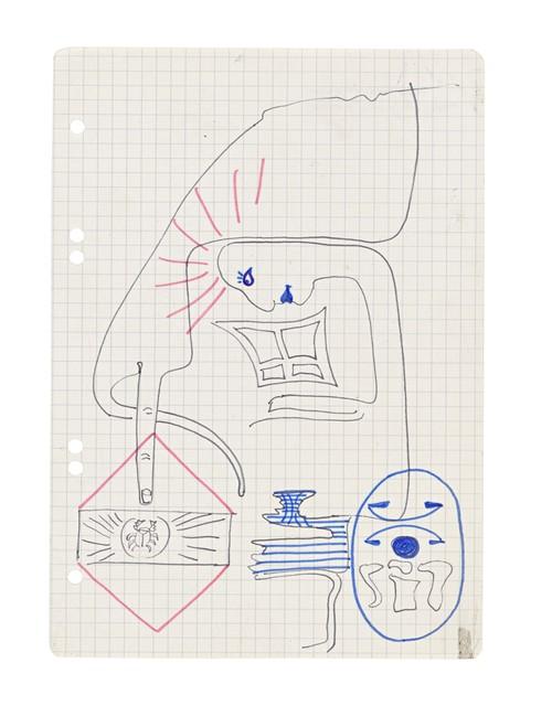 , 'Ohne Titel,' ca. 1975, Suzanne Tarasieve