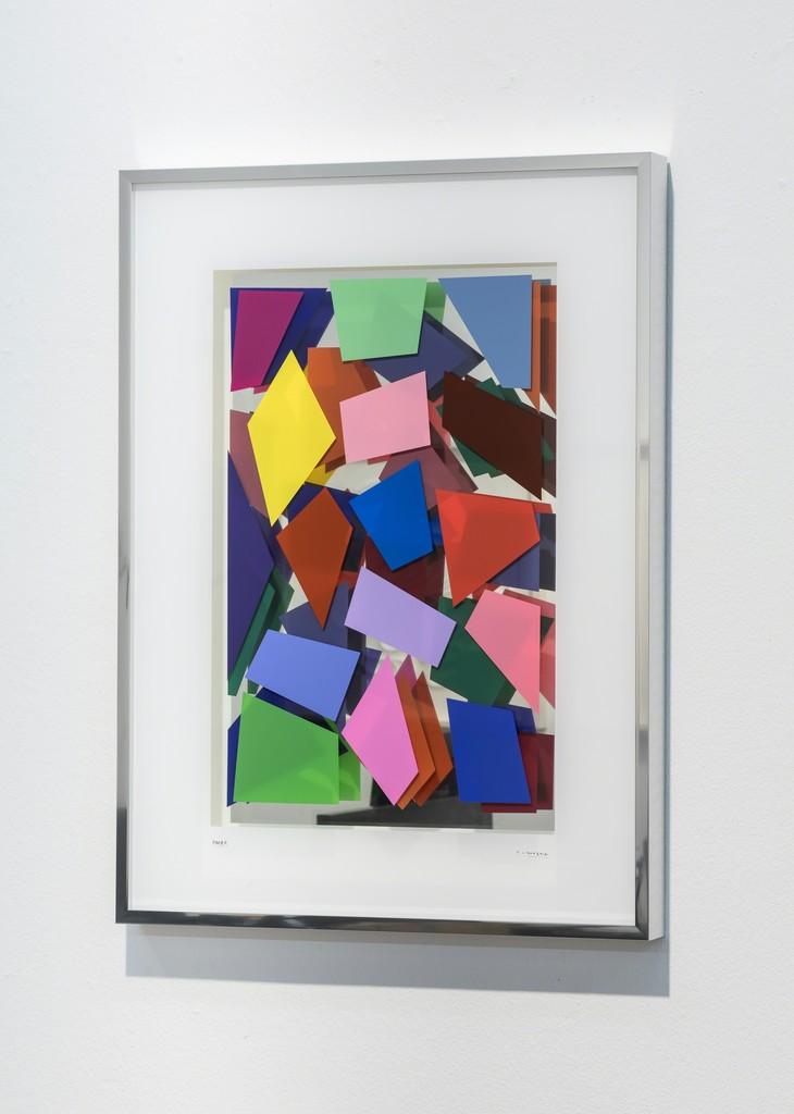 christian megert farbduett mit spiegel fils fine arts artsy. Black Bedroom Furniture Sets. Home Design Ideas