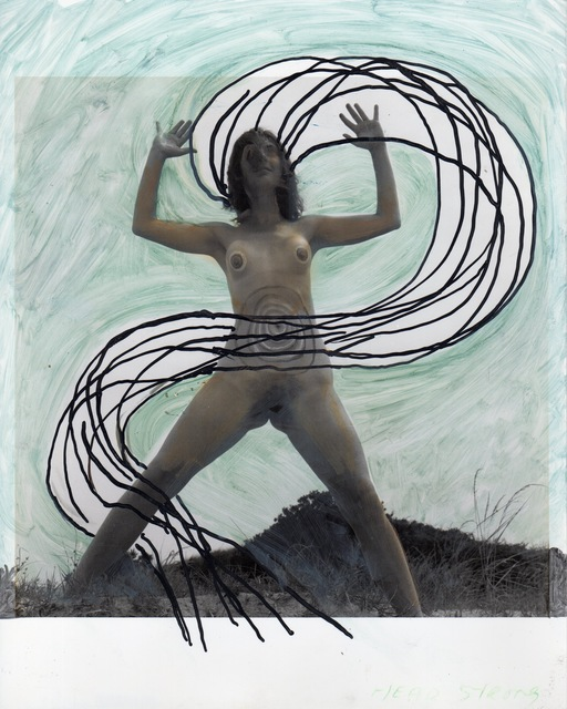 , 'Woman Rising with Energy Streaming (Woman Rising series),' 1973, David Lewis