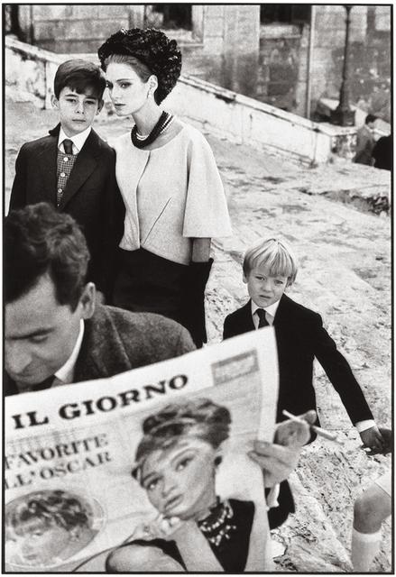 Frank Horvat, 'Rome, for Harper's Bazaar, High Fashion with Deborah Dixon I', 1962, °CLAIRbyKahn Galerie