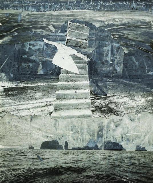 , 'Von den verlorenen gerührt die der Glaube nicht trug erwachen die Trommeln im Fluß,' 2005, Pera Museum
