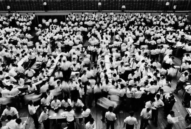 , 'Stock Exchange, Tokyo,' 1961, Galerie de la Béraudière