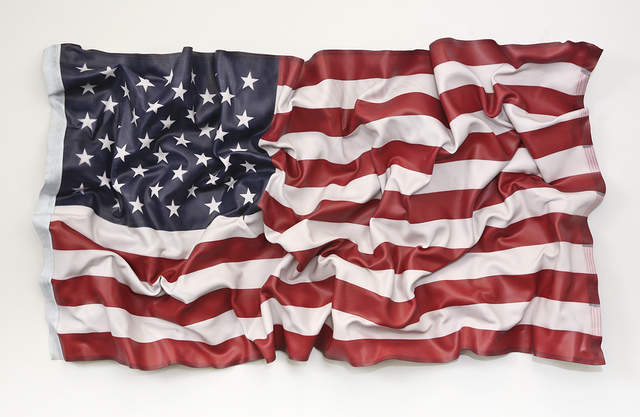 , 'American Flag Distorted,' 2017, Galerie de Bellefeuille