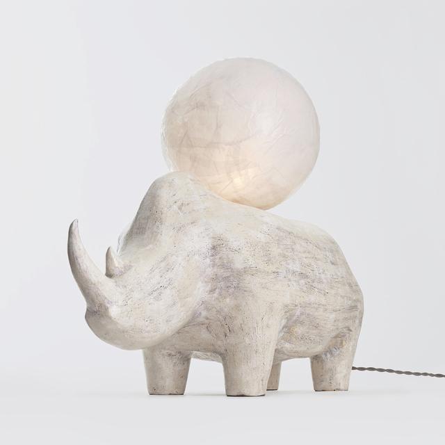 Kristin Victoria Barron, 'Rhino Lamp', 2019, The Future Perfect