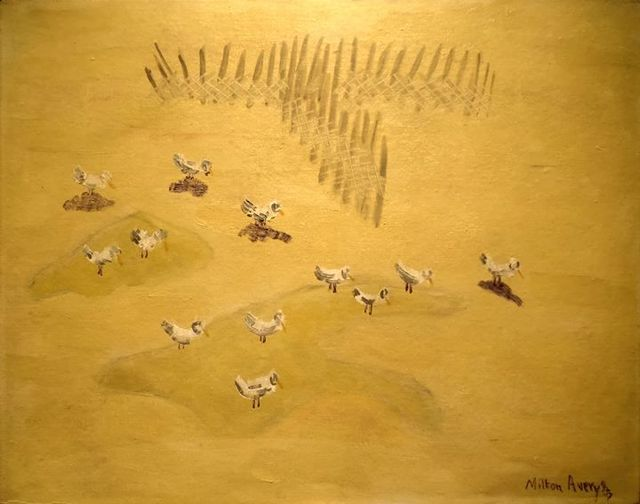 , 'Resting Gulls,' 1957, Yares Art Projects