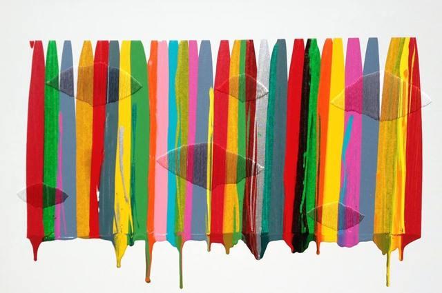 , 'FILS I COLORS CCVI ,' 2014, Michael Warren Contemporary