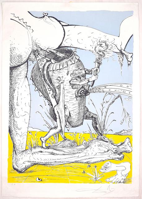 Salvador Dalí, 'Les Songes Drôlatiques de Pantagruel', 1973, Wallector