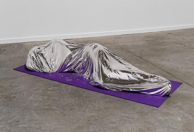 , 'Emergency Blanket,' 2015, Biennale de Lyon