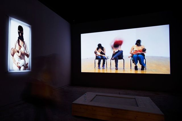 , 'Te doy mi palabra (I give you my word) (Installation view),' 2015, 56th Venice Biennale