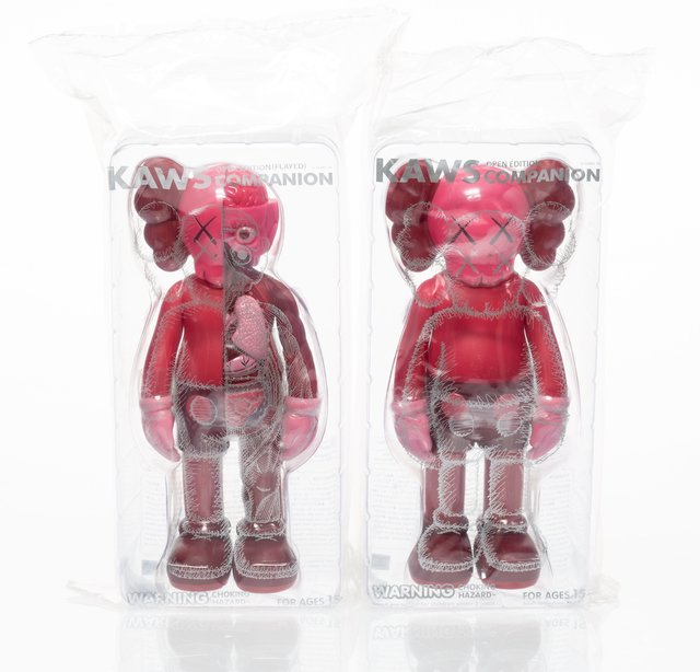 KAWS, 'Companion (Blush), set of two', 2016, Heritage Auctions