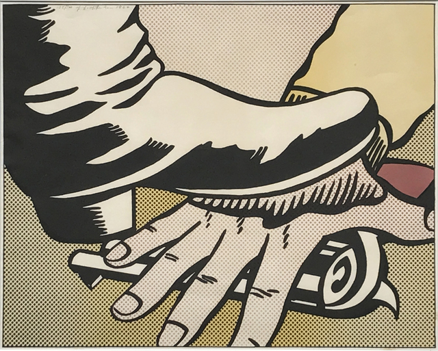 Roy Lichtenstein, 'Foot and Hand', 1964, Eckert Fine Art