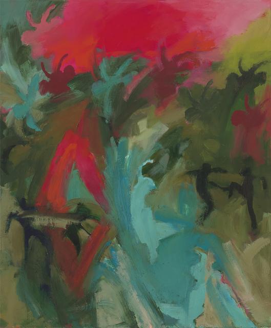 Iwalani Kaluhiokalani, 'Morning Warning', 2020, Painting, Oil on canvas, Galatea Fine Art