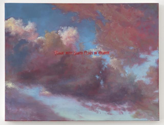 , 'FISHIN' WITH SANTA CLAUS IN HEAVEN,' 2019, Joshua Liner Gallery