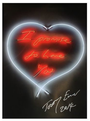 Tracey Emin, 'I Promise To Love You (signed)', 2014, MSP Modern