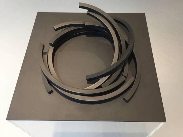 , '149,5° ARCS x 10,' 2016, Venet-Haus Galerie