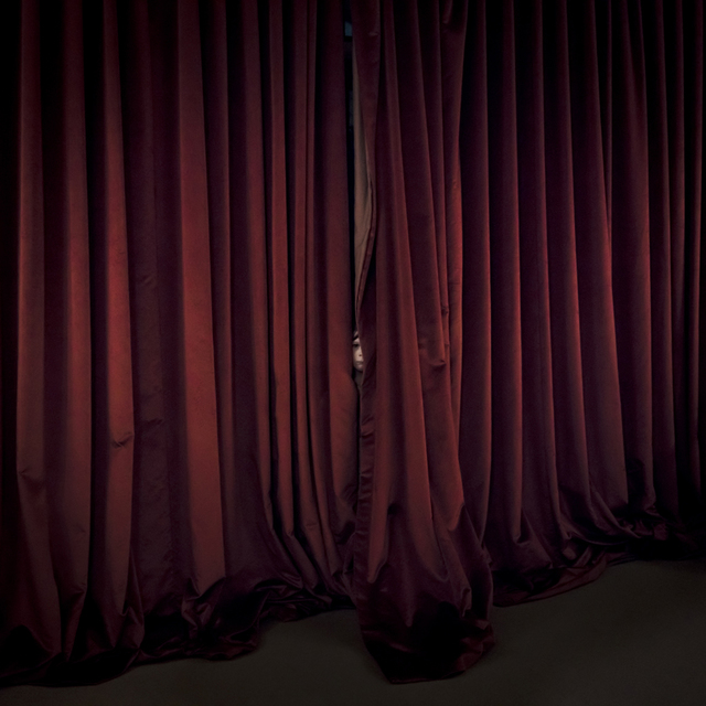 , 'Red Curtains, Location, Maine,' 2017, Huxley-Parlour