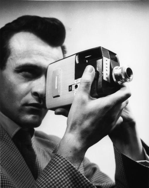 , 'Movie camera Duplex 9,5 mm for Pathé,' 1954, Les Arts Décoratifs