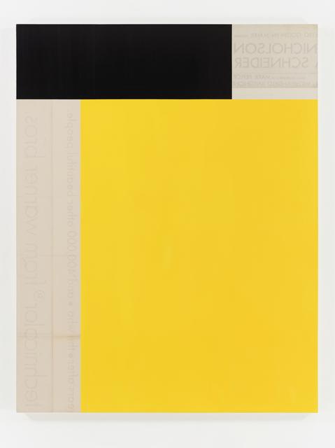 , 'Antonioni Nocturne I ,' 2016, Sophia Contemporary