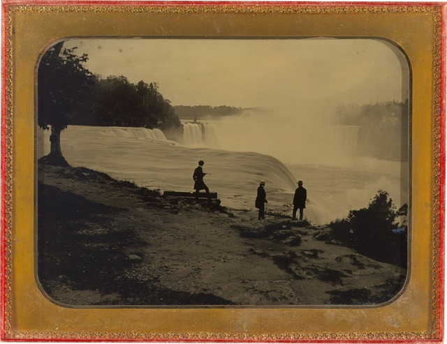 Platt D. Babbitt, 'Niagara Falls', ca. 1860, Photography, Ambrotype, National Gallery of Art, Washington, D.C.