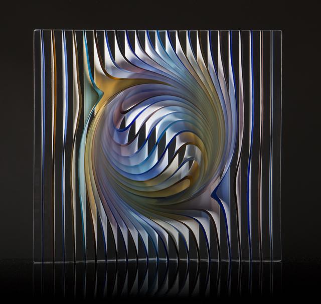 Peter Borkovics, 'Rainbow Dance', 2020, Sculpture, Cast floatglass, Avran Fine Art