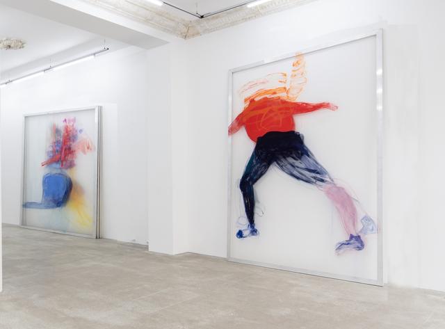 , 'Vier Möglichkeiten gegen eine Wand zu rennen,' 2017, Daniel Marzona