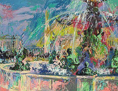 LeRoy Neiman, 'Place de la Concorde', 2006, David Parker Gallery