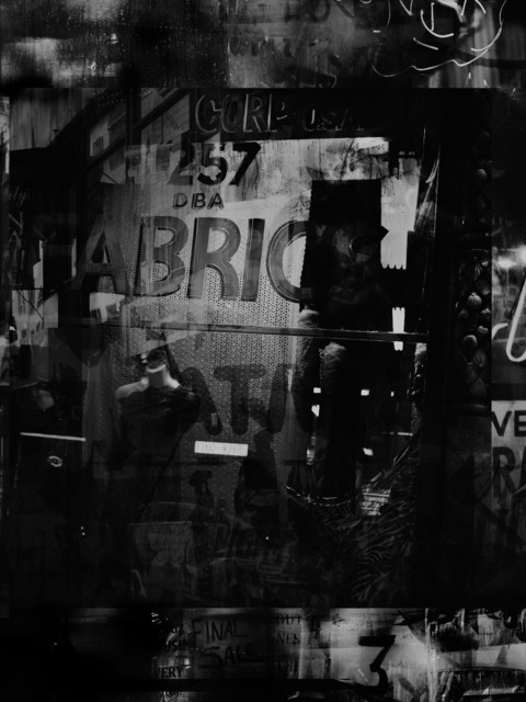 Valérie Belin, 'Broadway Luxury Plus (Reflection) ', 2019, Photography, Pigment print back-mounted on Dibond and framed with non reflect glass, Galerie Nathalie Obadia