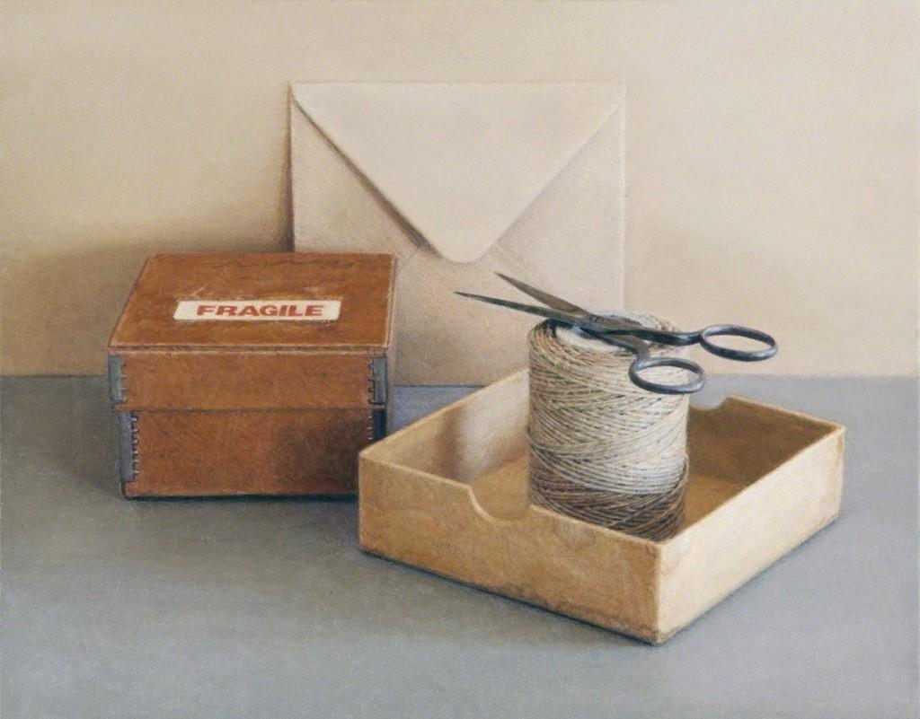 Fragile Box with Scissors
