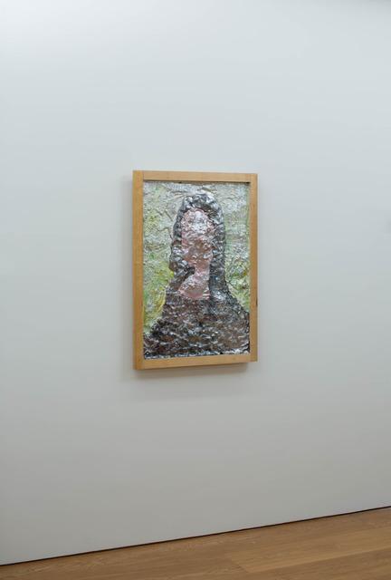 Gelitin, 'Mona Lisa', 2008, Mixed Media, Plasticine on wood, Perrotin