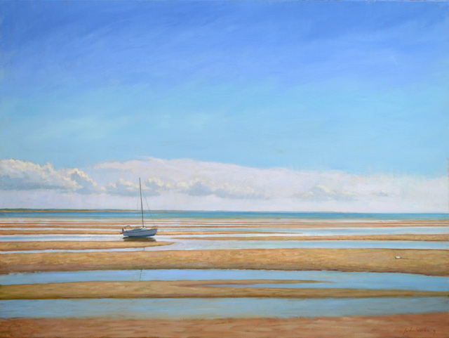 Paul Schulenburg, 'On the Flats at Low Tide ', Addison Art Gallery