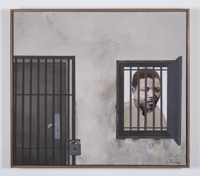 , 'Madiba waiting for his freedom,' 2018, Goodman Gallery