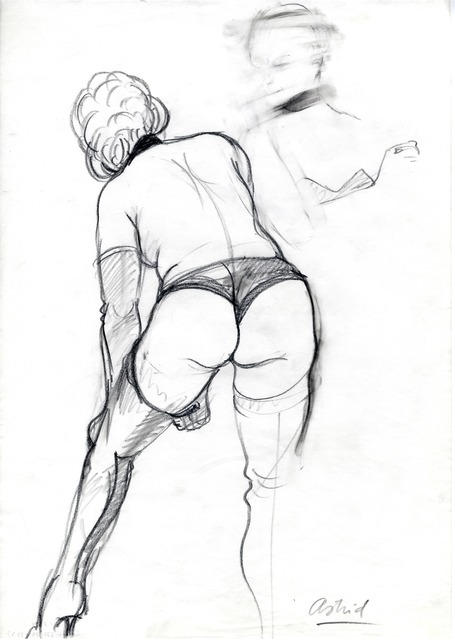 , 'Astrid,' 1985, Drawing Center