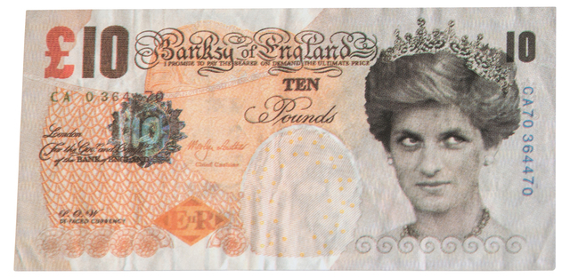 Banksy, 'Di Faced Tenner', 2004, EHC Fine Art: Essential Editions III