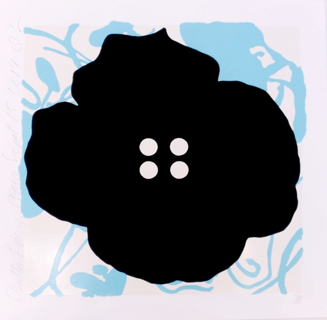 , 'Button Flower Aqua,' 2014, Heather Gaudio Fine Art