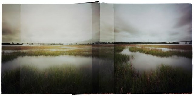 , 'Ravenel Bridge and Marsh,' ca. 2016, Rebekah Jacob Gallery