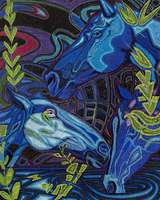 , 'Waterhole Nocturne,' 2018, Blue Rain Gallery